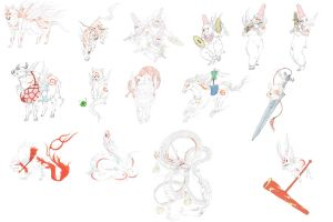 Okami Zodiac brushes 02 by Dr-Fumbles-McStupid