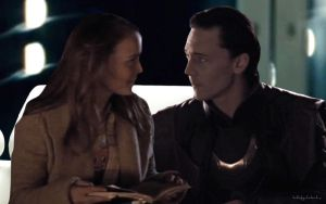 Loki Falls for Jane by hobbitgirlintardis