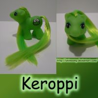 Baby Keroppi by AnimeAmy