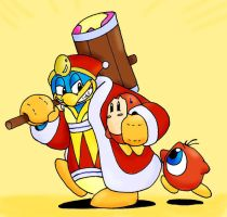 Da King Dedede by MissyZero