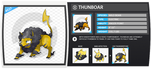 027 :: Thunboar by Elaynii