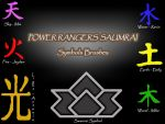 Power Rangers Samurai by byaruki-luv