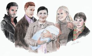 The Charming Family and Hook by LMColver
