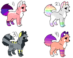 20 Point Adopts OPEN by FloralAdoptables