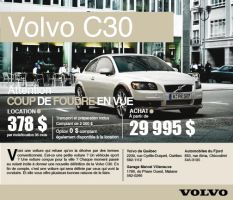 Volvo C30 advertisement by Forza27