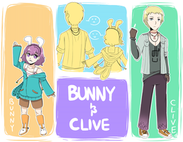Bunny And Clive by athilove101