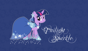 Twilight Sparkle Wallpaper by StrawberryHollow