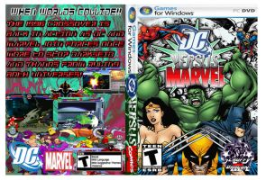 DC versus Marvel DVD cover by Dante909