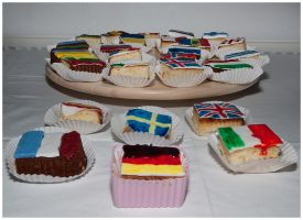 Eurovision Cakes 2 by Jedi-Solo