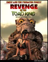 Revenge Of The Toad King Cover by PerilComics