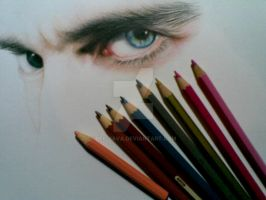 Michael fassbender wip_1 by Dee-java