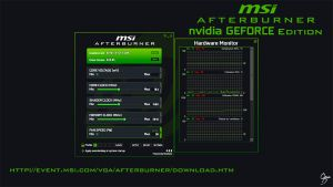 MSI Afterburner nVidia Flat Skin by Grum-D