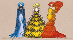 Legendary Trio Couture by thelettergii