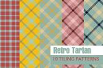 Retro Tartan - 10 patterns by aaskie
