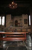 Montsalvat lower hall 2 by Dewfooter