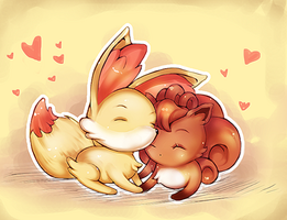 Fox Love by mad-y