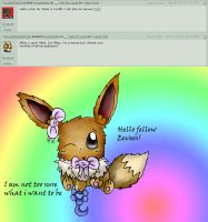 Ask TH-Luna Qn8: I am an Eevee too! + by NegativaMelke