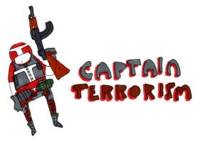 CAPTAIN TERRORISM by MANeatingCLOTHES