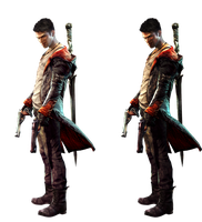Dante DmC Infected Render comparison by DarkTonic