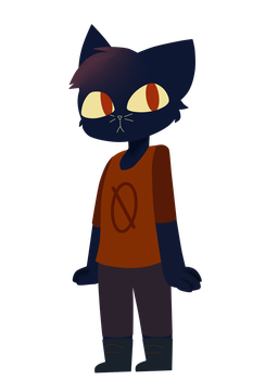 Mae [Night in the Woods] by BlueBerryCupcake127