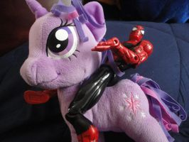 Spidey the Brony by erisama