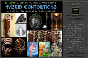 Hybrid Contortions show flier by MrSoles