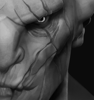 Azog 100 % crop by VonKulfon