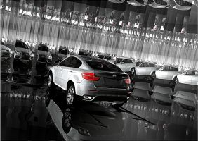 BMw x6 and rom of Mirrors by artsoni