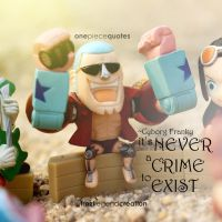 One Piece Quote - Cyborg Franky by froztlegend