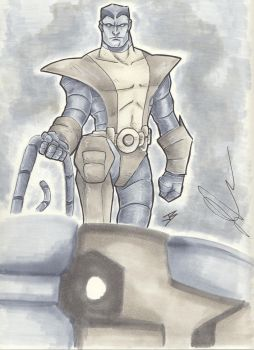 Colossus Commission by jbugx