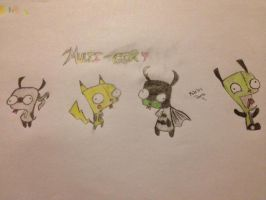 Gir - Invader Zim!!! by GlOmP3R