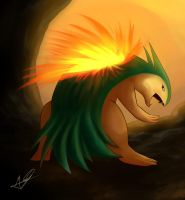 Typhlosion by omegalife