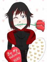 Valentines Day- Ruby Rose by xatlastpeacex