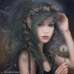 Dandelion- Make a wish to the Moon!! by GinebraCamelot