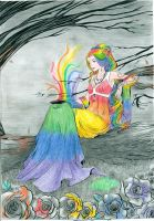 Lady of Color by AngelofNightmareRelm