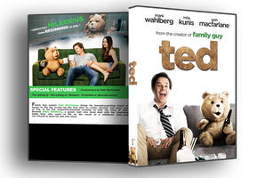 Ted dvd cover WIP by Staxit