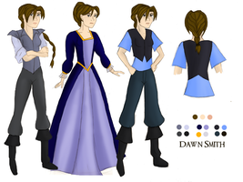 Dawn, Age 18 Character Sheet by girlwonder004
