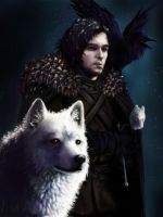 Jon Snow by shobey1kanoby