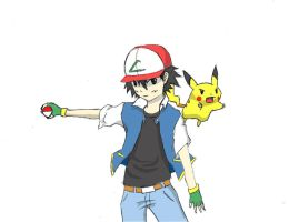 Ash Ketchum by TimTam13