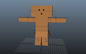 WIP -simple 3D character to rig by Miss-LOVEBUG