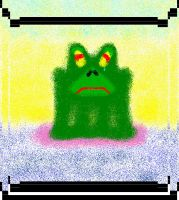 Crying Frog by DudelRok