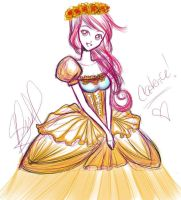 Princess Cadence Quick Gijinka by NemesisElementer