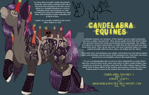 Candelabra Equines (Species Ref) by ABOMinableSpectra