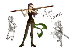 Raina James by Whisperwings