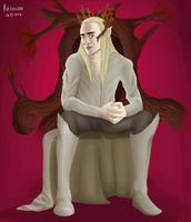 Commission - Thranduil by arthcor