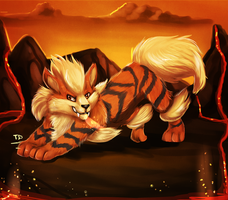 Just Arcanine by TigresaDaina