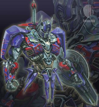 Transformers_Age of Extinction_Optimus Prime by hosanna9