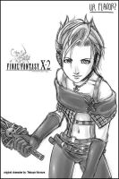FFX2s Paine by griever5401