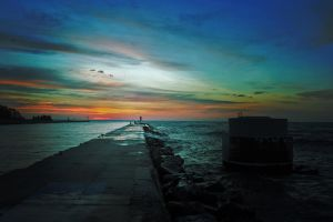 Lake Michigan Dawn 1 by MDV1