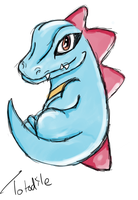 Totodile C: by DodongoBuster